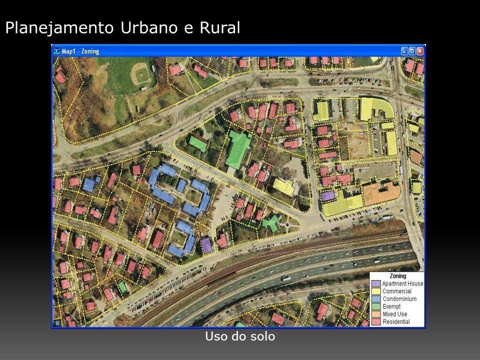 Planejamento Urbano e Rural Uso do solo