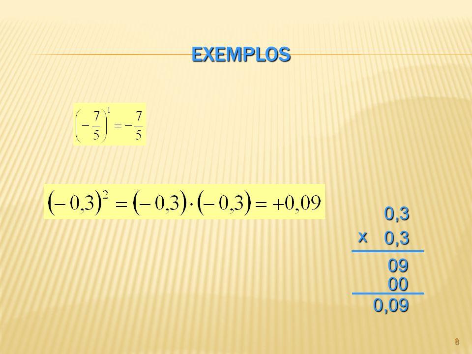 EXEMPLOS 80,30,3 x 09 00 0,09