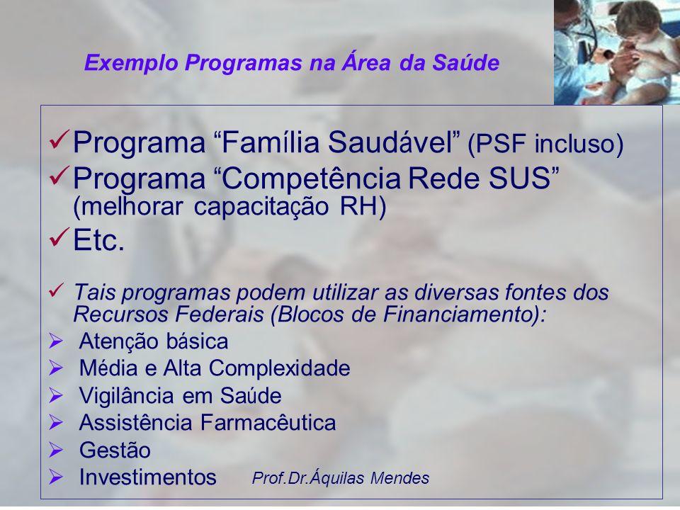 Prof.Dr.Áquilas Mendes É o instrumento de organização da ação governamental, com vistas no enfrentamento de um problema, atendimento a uma demanda ou