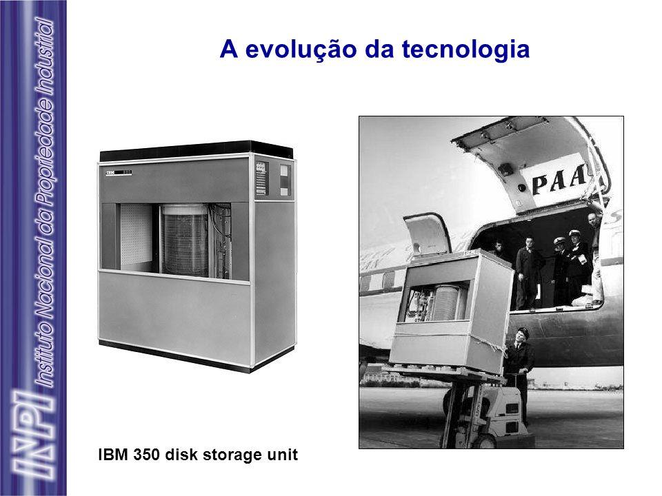 A evolução da tecnologia IBM 350 disk storage unit