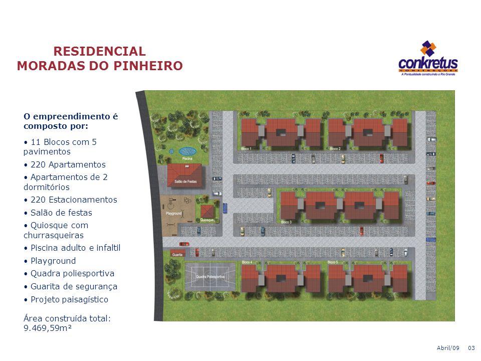 Localização: O empreendimento localiza-se na Estrada João Antônio Silveira (Av. do Trabalhador), nº 7.365, Bairro Lomba do Pinheiro, na cidade de Port