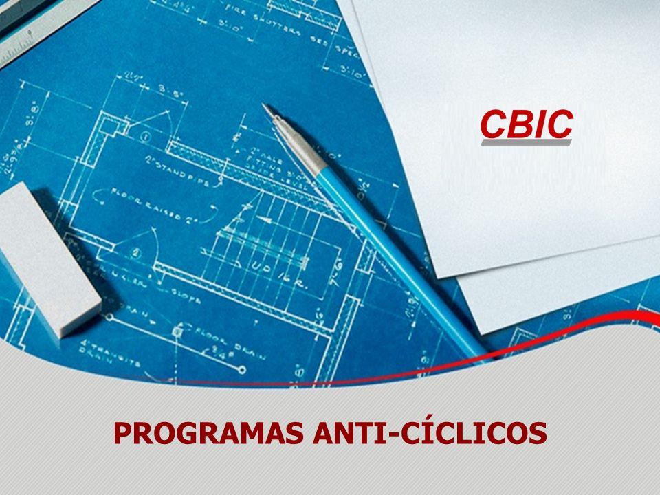 PROGRAMAS ANTI-CÍCLICOS