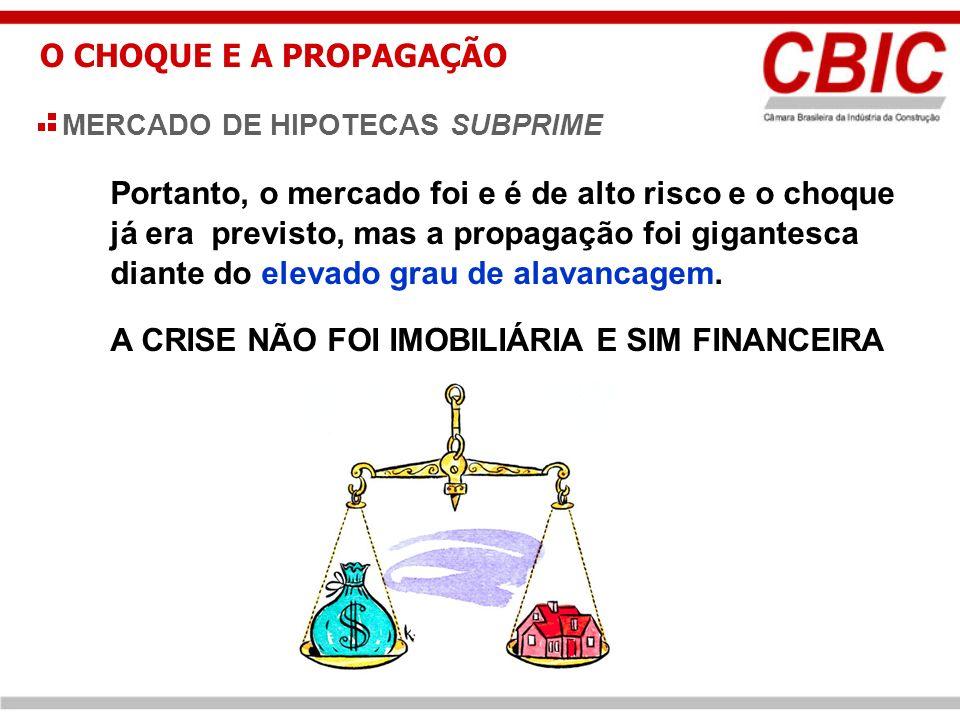 O CHOQUE E A PROPAGAÇÃO Fonte.: Folha de São Paulo