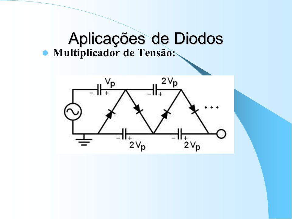 Aplicações de Diodos Multiplicador de Tensão: