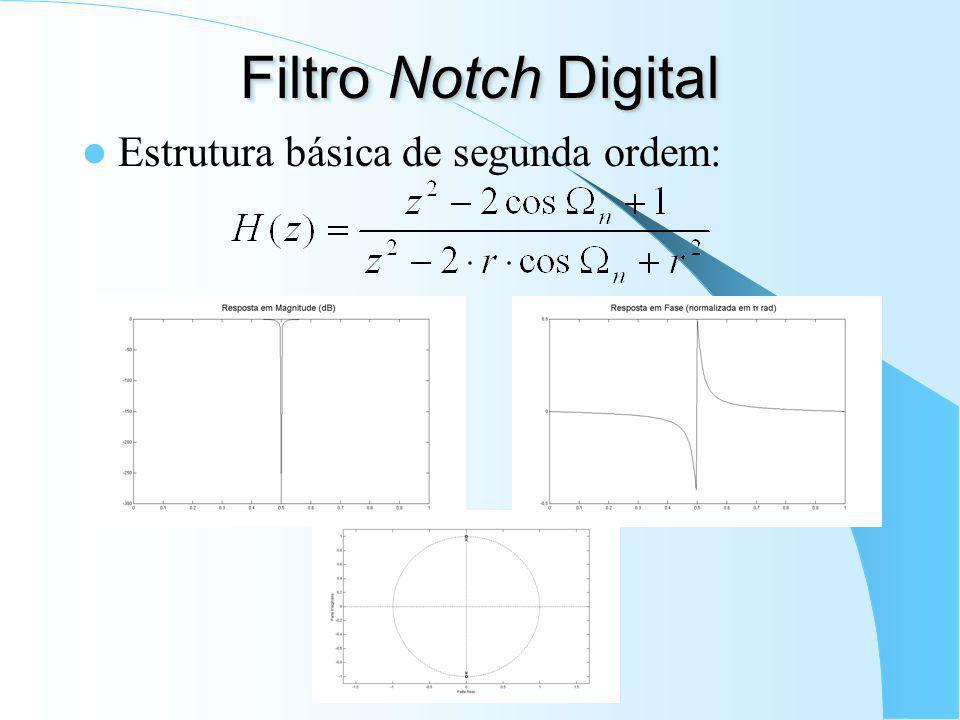 4.c) Voltar ao domínio digital: onde, para filtros passa-faixa e rejeita-faixa, i=1,2.