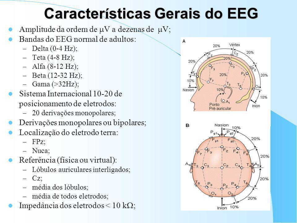 Condicionamento e Aquisi ç ão do EEG