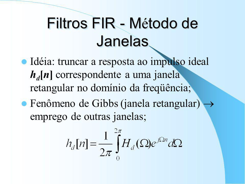 Filtro Rejeita-Faixa Ideal