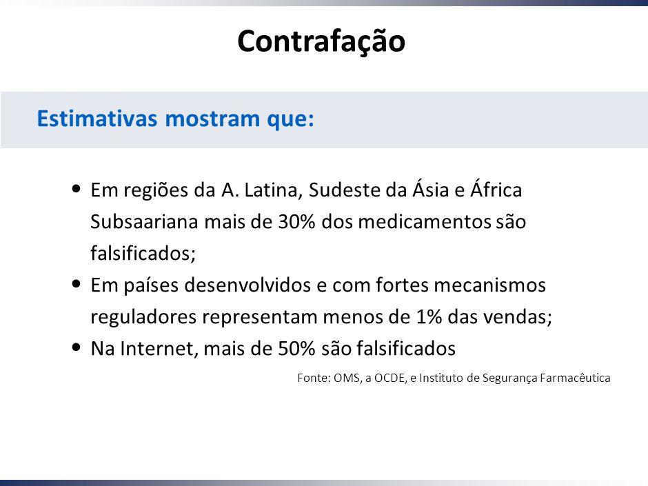 Working Draft - Last Modified 01/12/2005 10:11:49 Printed 7 Estimativas mostram que: Em regiões da A.