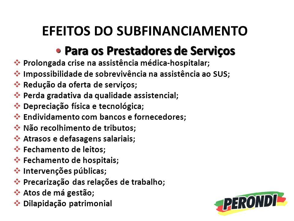 PAPEL DO LEGISLATIVO REGULAMENTAÇÃO DA EC-29