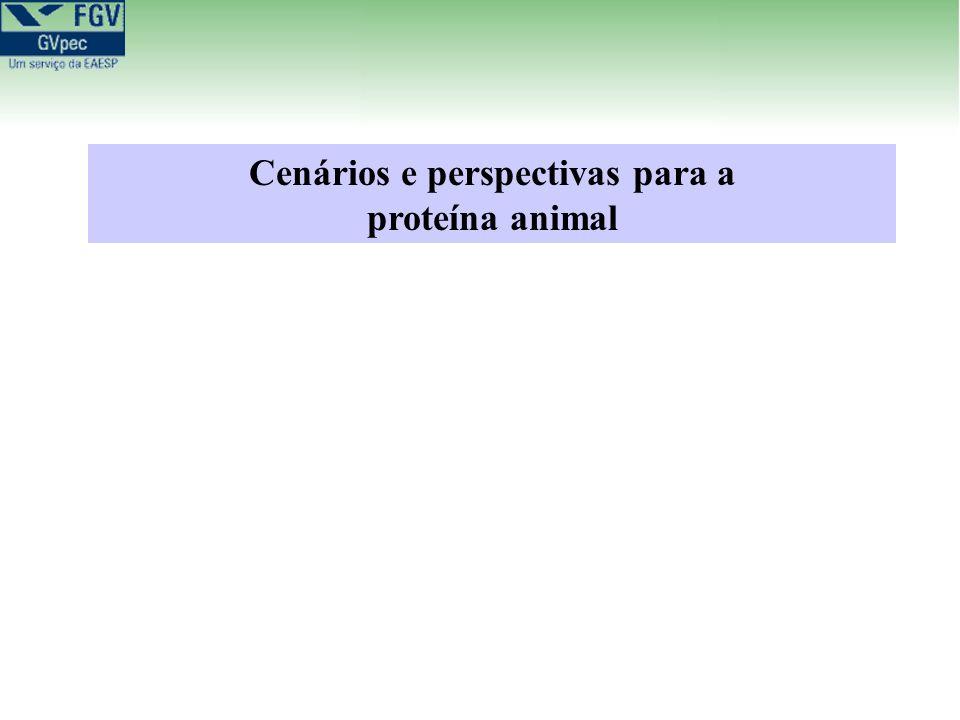Cenários e perspectivas para a proteína animal