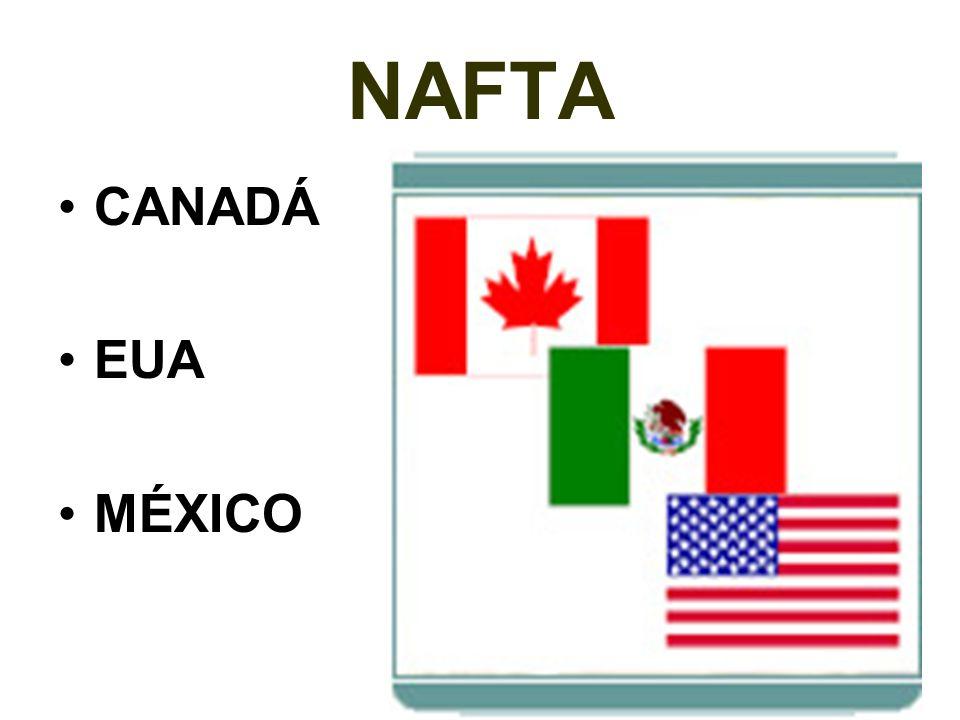 NAFTA CANADÁ EUA MÉXICO