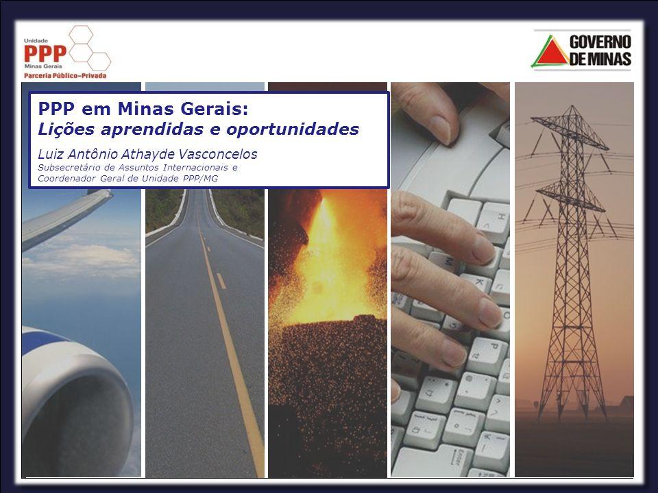 Introdução Em 2003 o governo de Minas Gerais estabeleceu sua principal macro meta: Transformar Minas Gerais no melhor Estado para se viver e investir Aumentar o investimento em infra-estrutura pública Aumentar a eficiência na prestação de serviços públicos e a satisfação do cidad