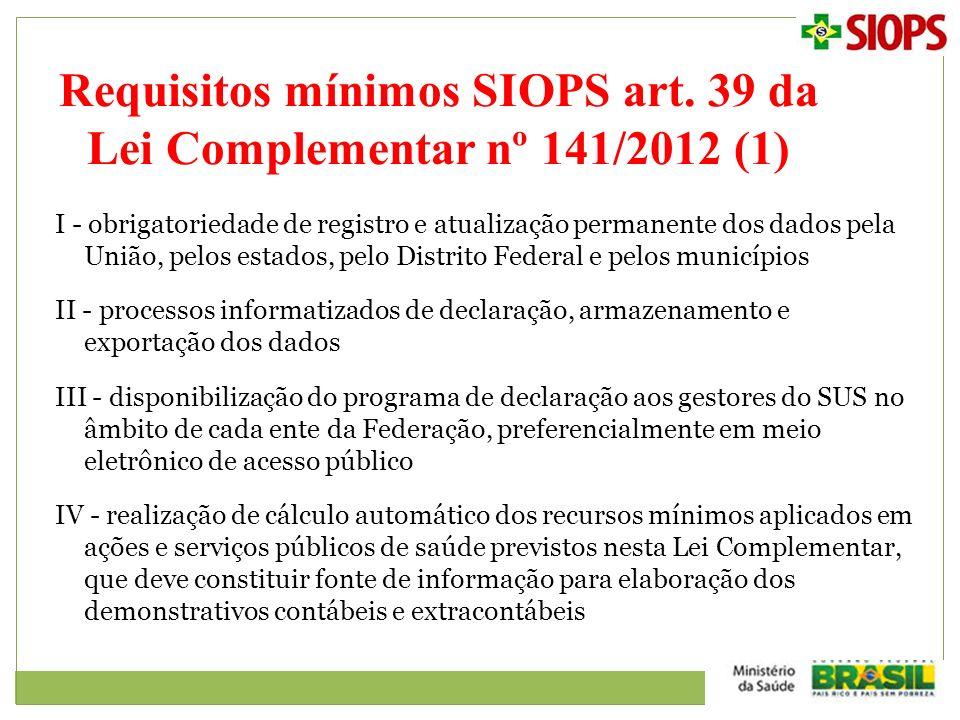 I - obrigatoriedade de registro e atualização permanente dos dados pela União, pelos estados, pelo Distrito Federal e pelos municípios II - processos