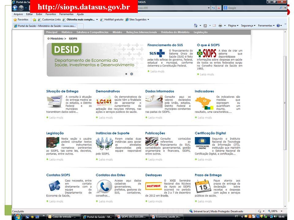 31 http://siops.datasus.gov.br