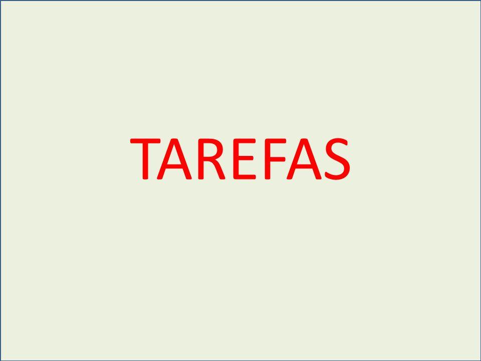 TAREFA 01 Valor: 200 pts