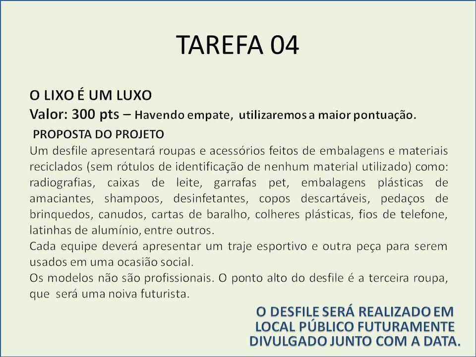 TAREFA 05