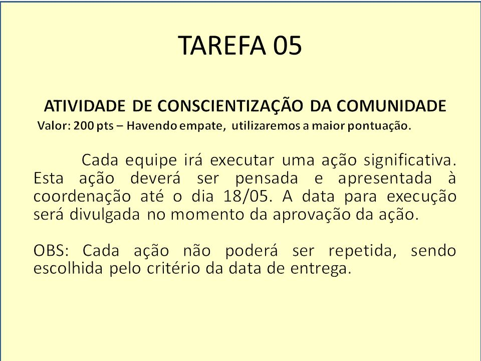TAREFA 06