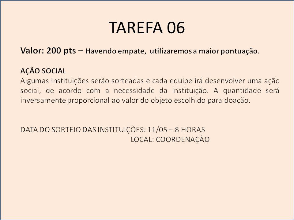 TAREFA 07