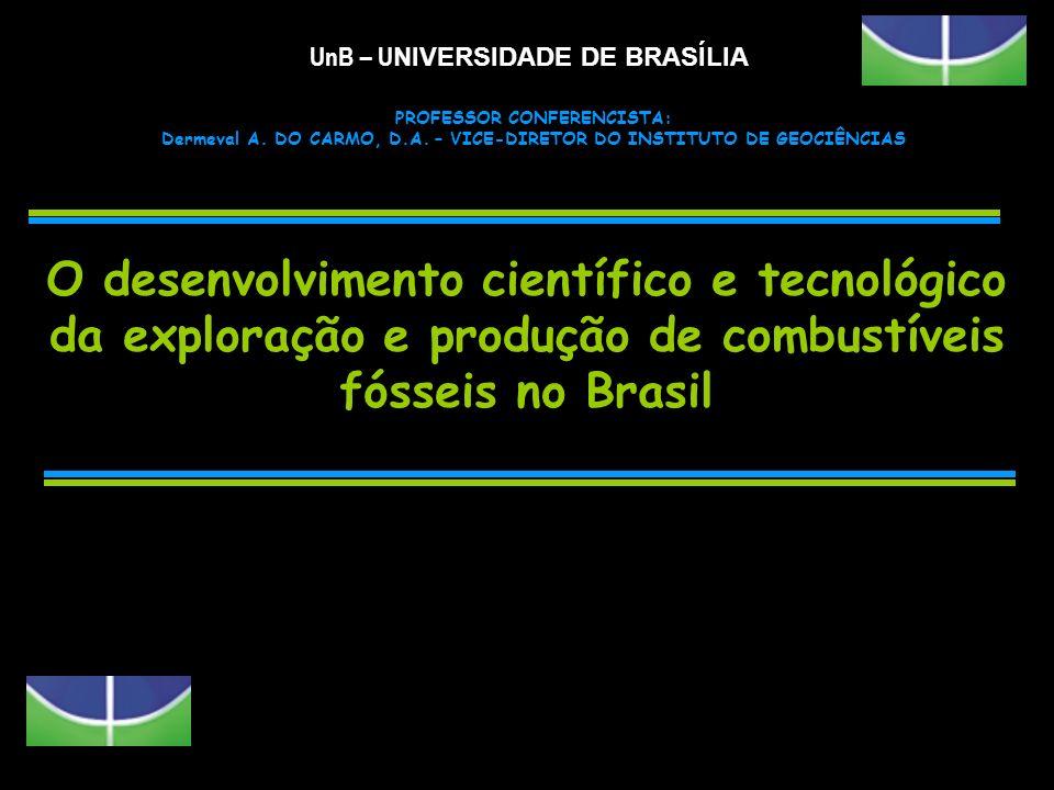 FATO - O desenvolvimento científico e tecnológico ocorre através da realização de projetos de pesquisa – PROJETOS DE PESQUISA