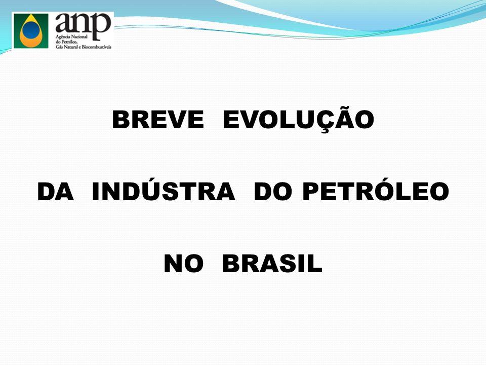 BREVE EVOLUÇÃO DA INDÚSTRA DO PETRÓLEO NO BRASIL