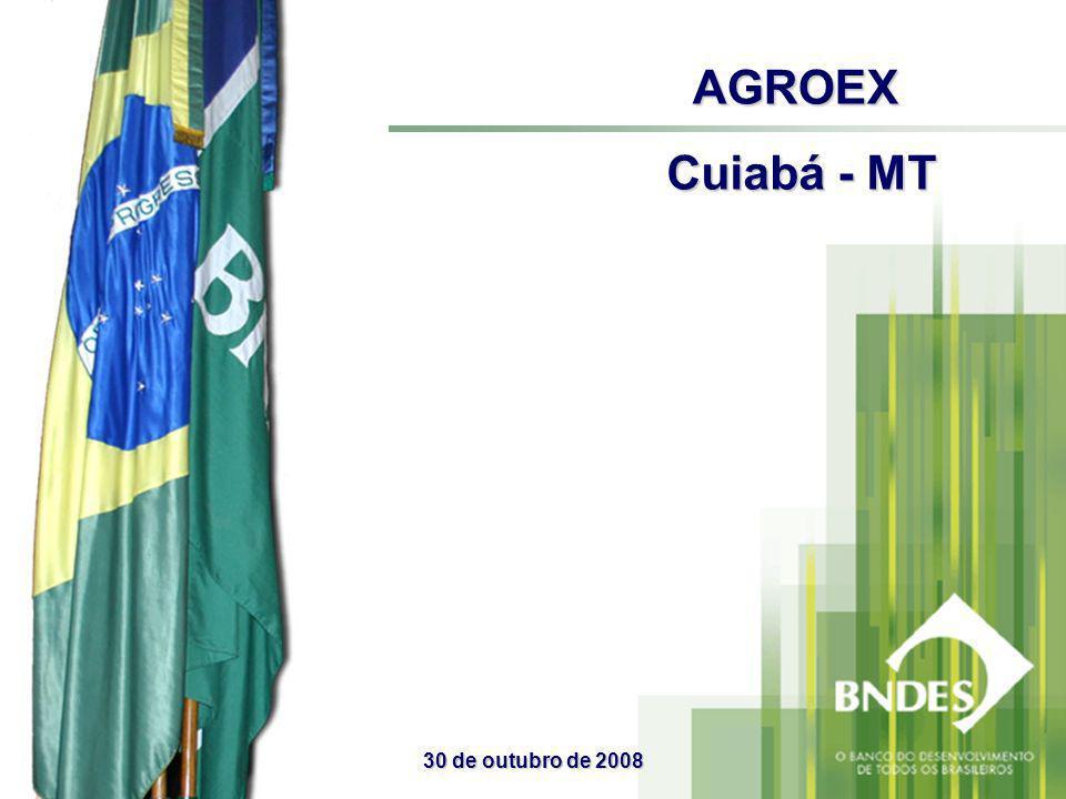 AGROEX Cuiabá - MT 30 de outubro de 2008