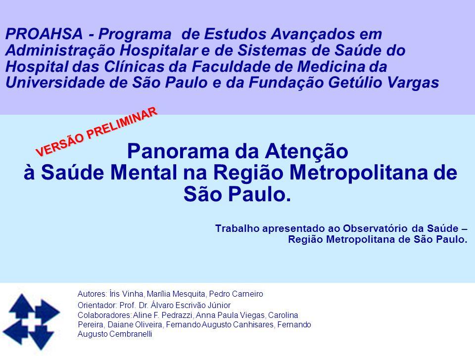 Autor: PROAHSA 2 Introdução A Saúde Mental tem sido um foco de discussão dentro da evolução da saúde brasileira desde a década de 1970.