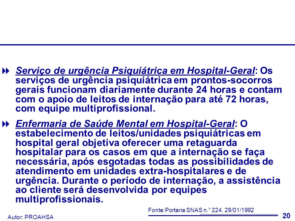 Autor: PROAHSA 21 De 2003 a 2005, nota-se que o índice de mortalidade não teve alteração expressiva.