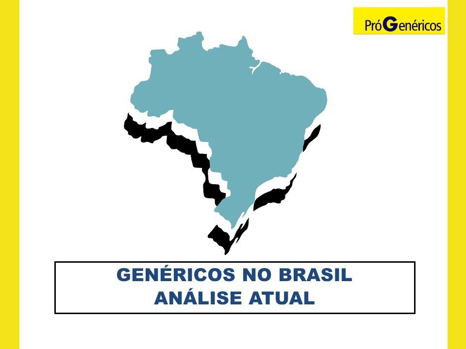 GENÉRICOS NO BRASIL ANÁLISE ATUAL