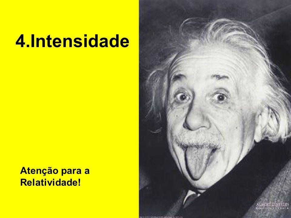 4.Intensidade Atenção para a Relatividade!