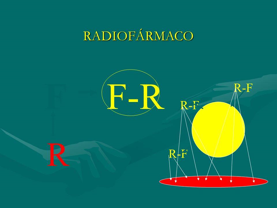 RADIOFÁRMACO F R F-R R-F