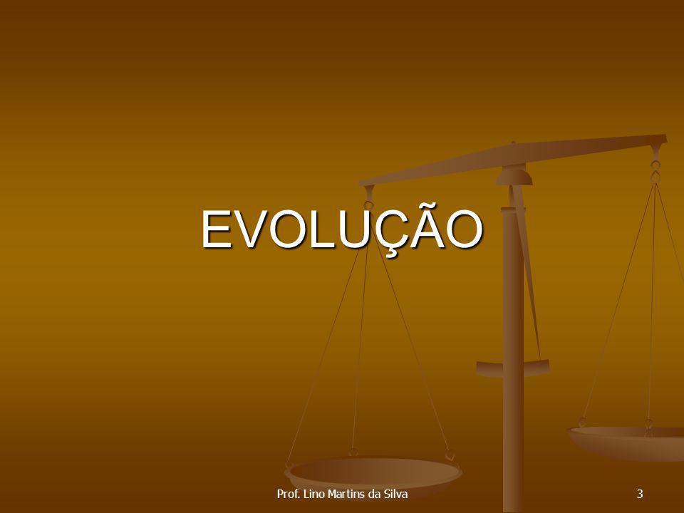 EVOLUÇÃO Prof. Lino Martins da Silva3