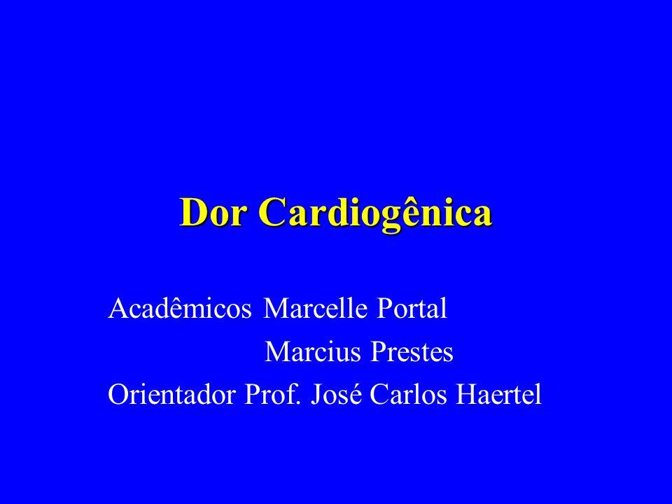 Exames Complementares Eletrocardiograma: V1 V2 V3 V4 V5 V6