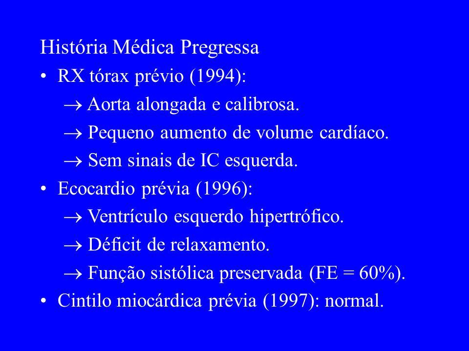 Evolução Paciente obteve melhora clínica, sendo internado na enfermaria.
