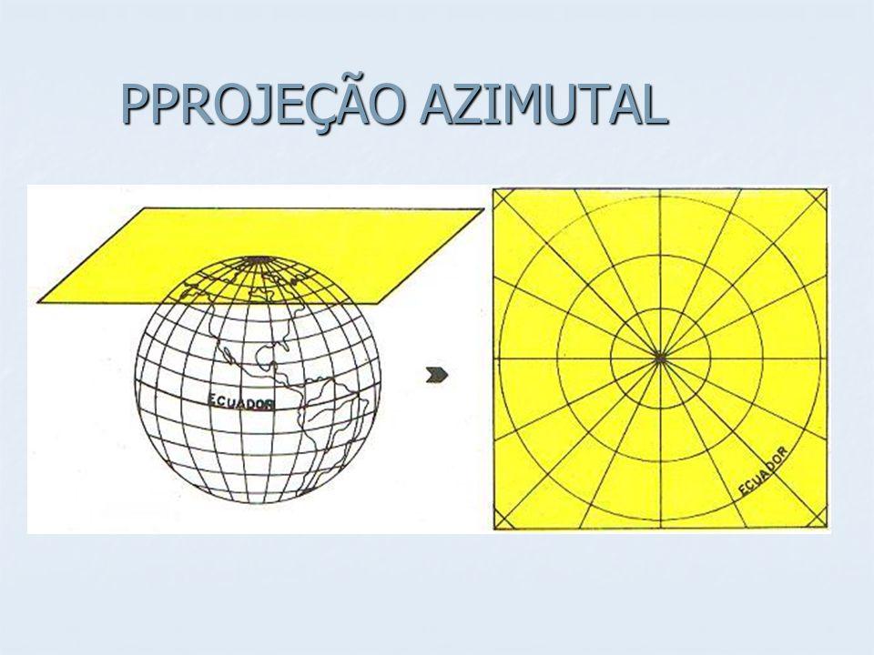 PPROJEÇÃO AZIMUTAL