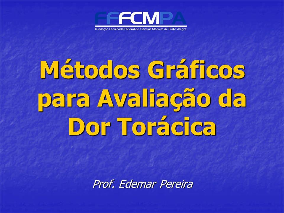 Métodos Gráficos para Avaliação da Dor Torácica Prof. Edemar Pereira
