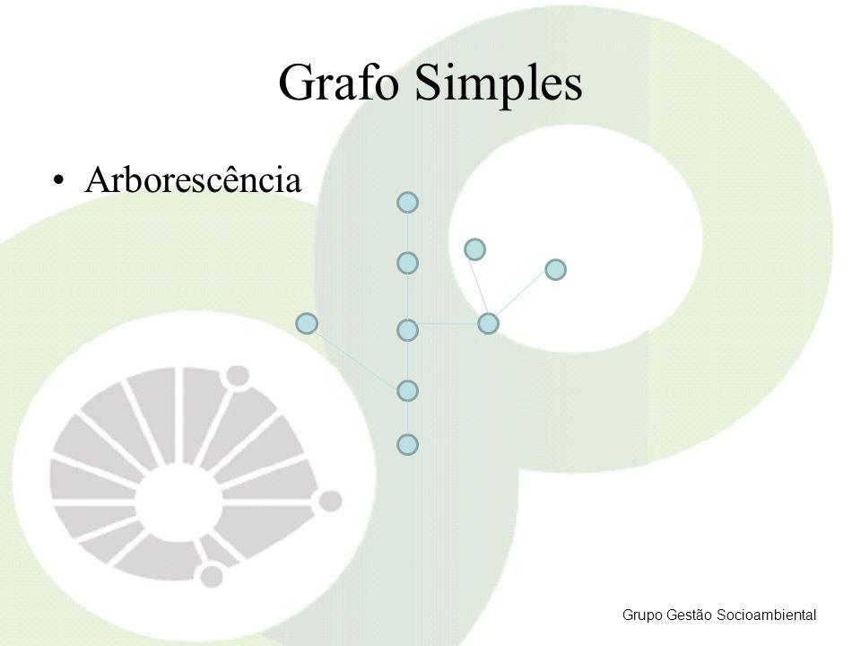 Grafo Simples Arborescência Grupo Gestão Socioambiental