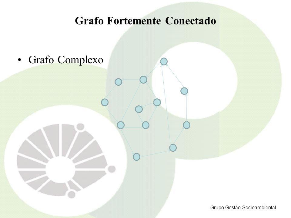 Grafo Fortemente Conectado Grafo Complexo Grupo Gestão Socioambiental
