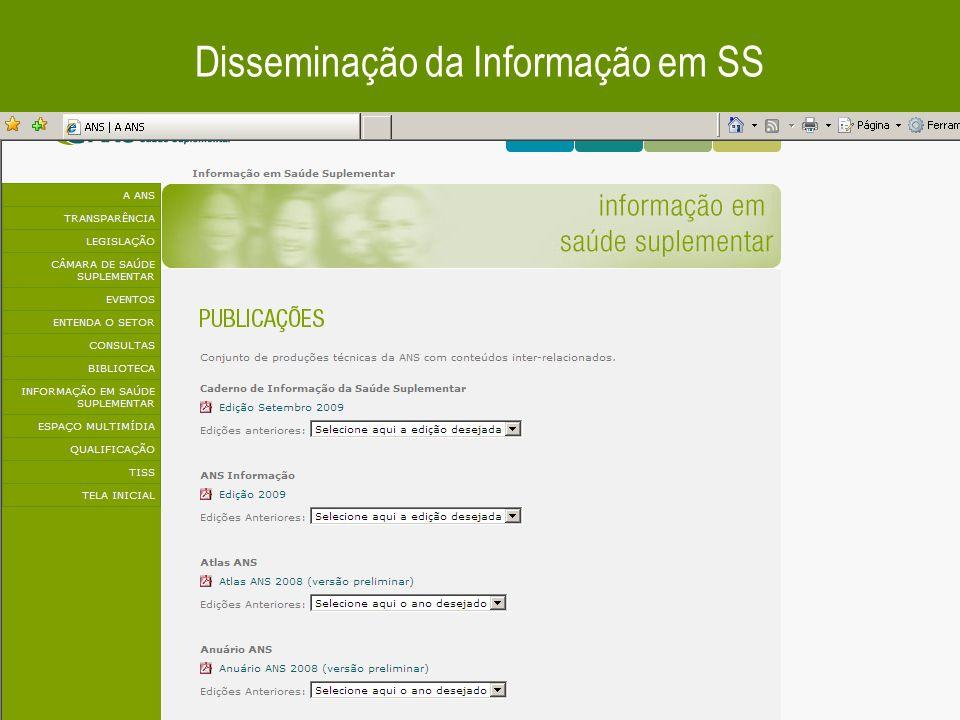 37 Disseminação da Informação em SS