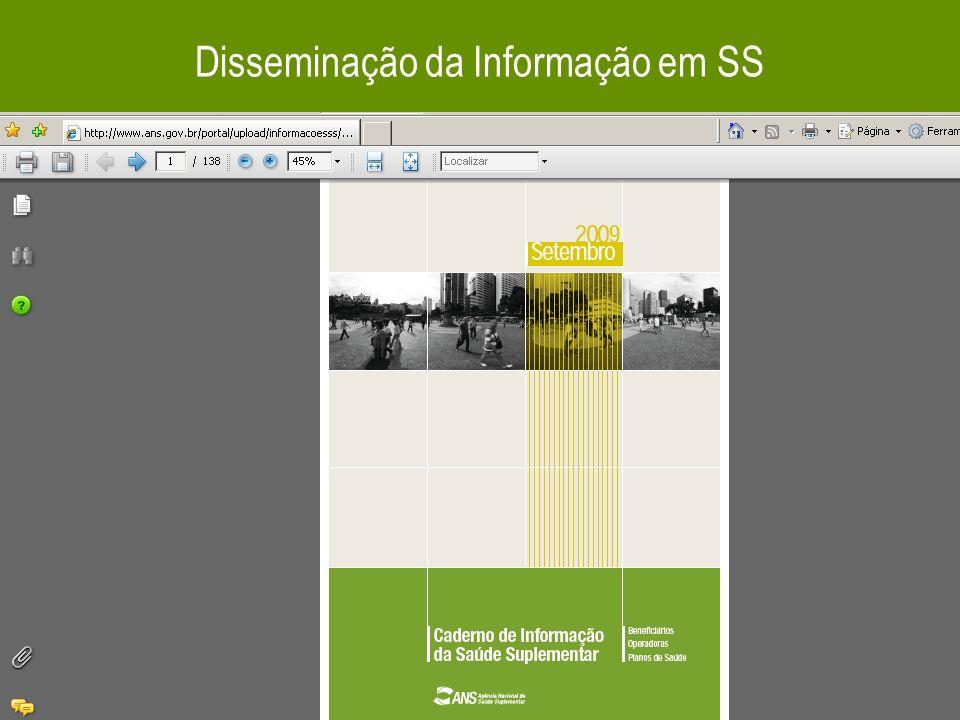 38 Disseminação da Informação em SS
