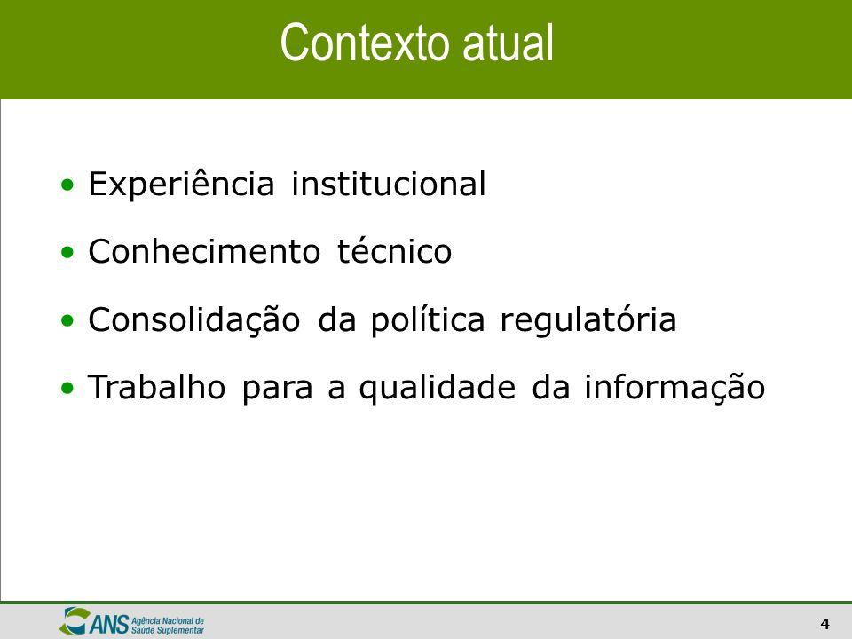 15 Fontes: Sistema de Informações de Beneficiários - ANS/MS - 06/2009 e População - IBGE/DATASUS/2009 Taxa de Cobertura de Beneficiários de planos de assistência médica para o Estado de São Paulo
