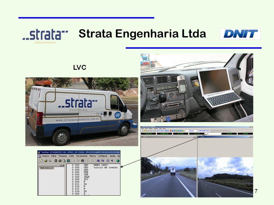 Strata Engenharia Ltda Seção Transversal: Fresagens Localizadas e Reforço 18
