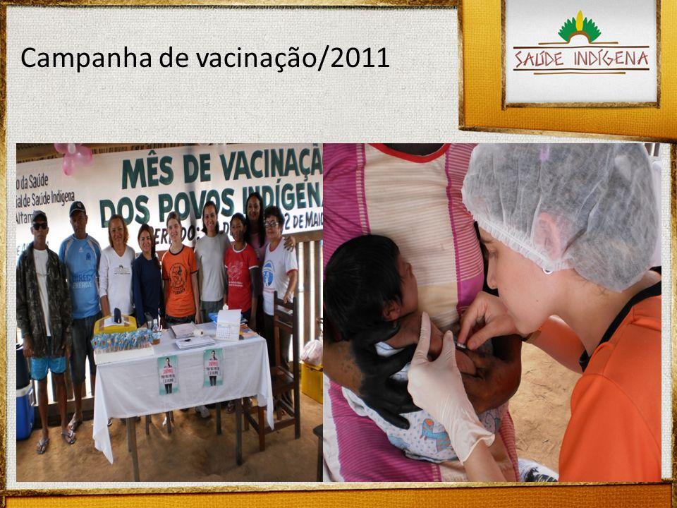 Campanha de vacinação/2011