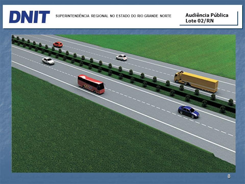 CARACTERÍSTICAS DO PROJETO PAVIMENTAÇÃOPAVIMENTAÇÃO O projeto executivo de restauração do pavimento das rodovias BR- 226/RN (segmento: km 0,0 ao km 84,1) e BR-304/RN (segmentos: km 150,0 ao km 282,4 e km 299,1 ao km 309,3) foi elaborado com o objetivo de definir e detalhar os procedimentos e as intervenções necessárias para as obras de restauração destas rodovias, obedecendo às normas vigentes do DNIT, e ainda, de acordo com as premissas do Programa CREMA – 2ª Etapa..