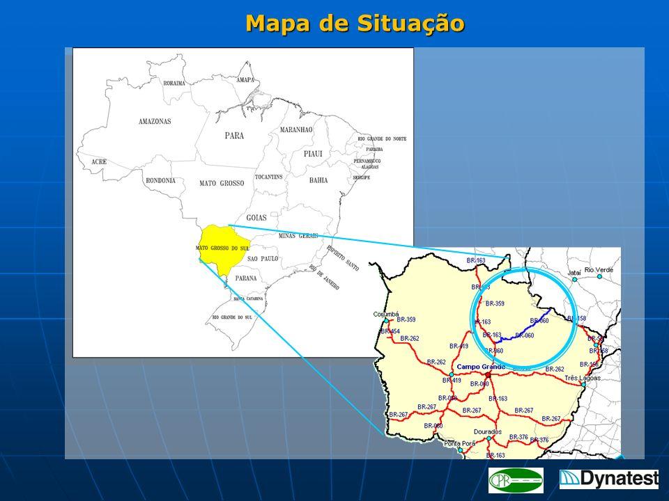 Mapa de Situação Mapa de Situação