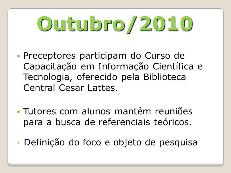 Preceptores participam do Curso de Capacitação em Informação Científica e Tecnologia, oferecido pela Biblioteca Central Cesar Lattes.