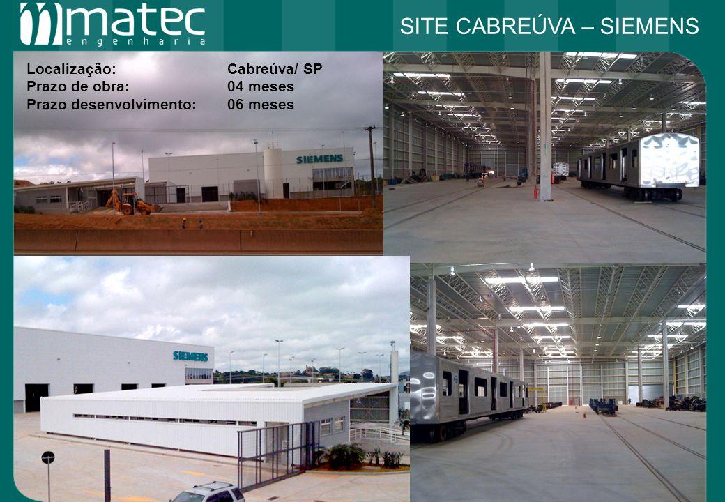 Localização: Cabreúva/ SP Prazo de obra:04 meses Prazo desenvolvimento:06 meses