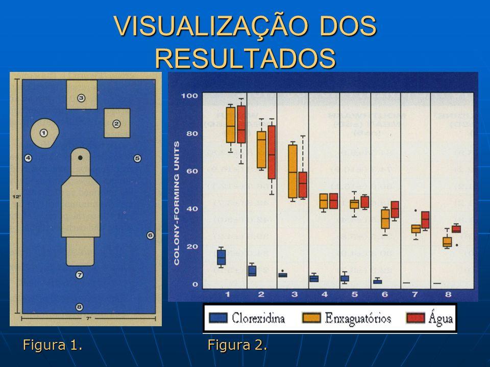VISUALIZAÇÃO DOS RESULTADOS Figura 1. Figura 2.