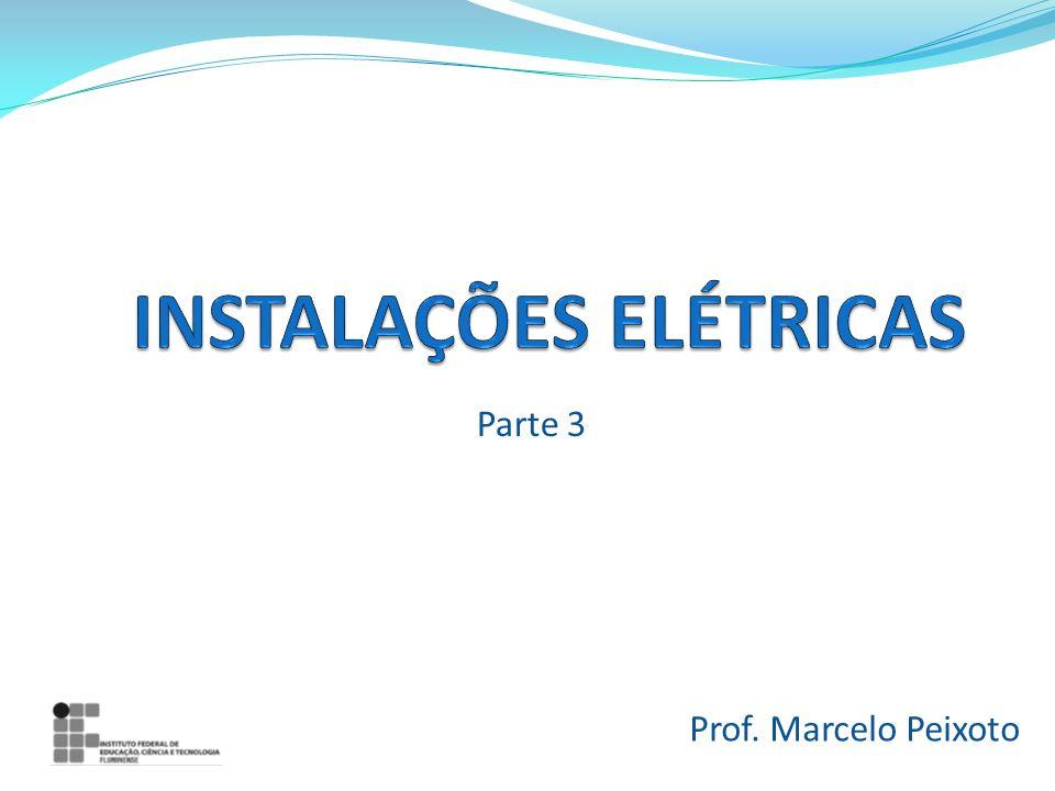 PROJETO DE INSTALAÇÕES Normas técnicas a serem consultadas na elaboração de um projeto elétrico NBR 5410; Normas da concessionária elétrica local (AMPLA).