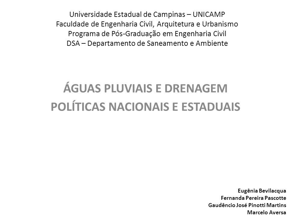 Universidade Estadual de Campinas – UNICAMP Faculdade de Engenharia Civil, Arquitetura e Urbanismo Programa de Pós-Graduação em Engenharia Civil DSA –
