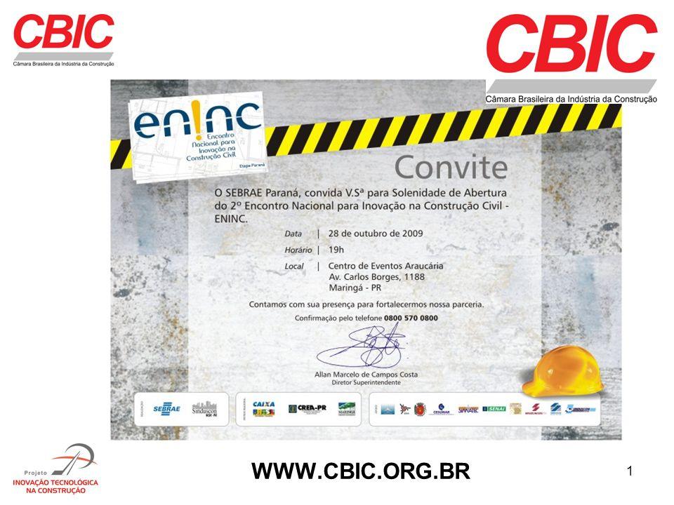 1 WWW.CBIC.ORG.BR